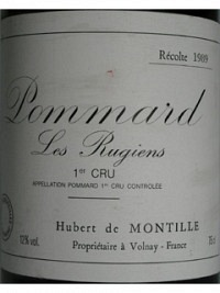 Pommard Rugiens 1989, AOC