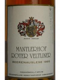 Roter Veltliner Beerenauslese 1995